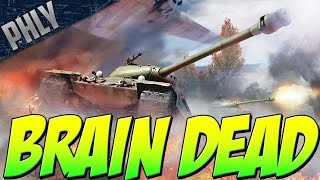 Brain Dead Gameplay - IS-6 TOO STRONK (War Thunder IS-6 Gameplay)
