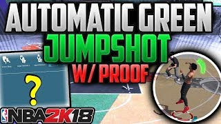 """NEW"" BEST FASTEST GREEN JUMPSHOT! 