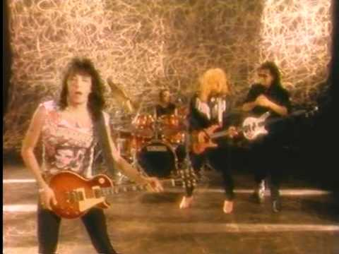 Ace Frehley ITS OVER NOW and INSANE Frehley's Comet original video