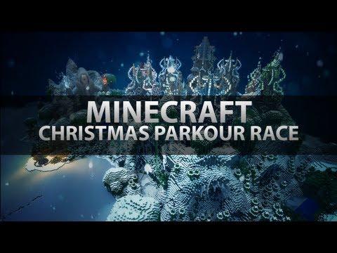 Minecraft Christmas Parkour Race!