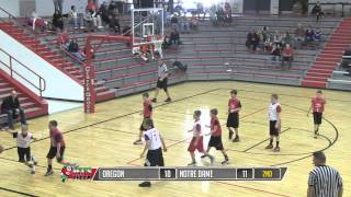Center Grove Boys Basketball - 6th Grade Championship Game (2013)