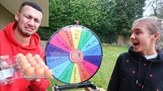 1 SPIN = 1 DARE! SPIN ROULETTE WHEEL CHALLENGE GAME *GIRLFRIEND*