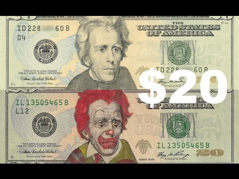 DRAWING ON MONEY!!