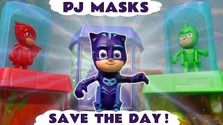PJ Masks Save The Day with NEW Transforming Figure Playset and the funny Funlings TT4U