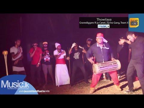 Thowilaya - Gravediggers Ft Ahasa,ja Canel, Zycho Gang, Team X