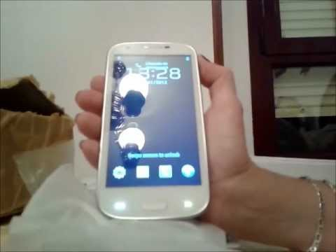 GALAXY S3-CLON -HDC I9300-MTK  6575-¡¡ DESEMPAQUETADO..!! EN ESPAÑOL...