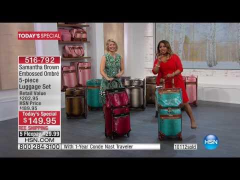 HSN   Samantha Brown Travel 01.29.2017 - 05 PM