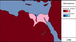 Akka Kuşatması (1799) (Harita)