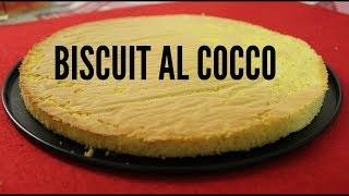 Biscuit al cocco | BISCOTTO AL COCCO | COCONUT BISCUITS