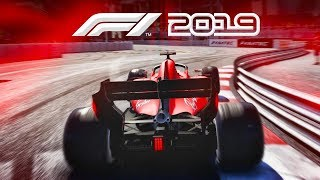 F1 2019 4K Gameplay - Ferrari at Monaco