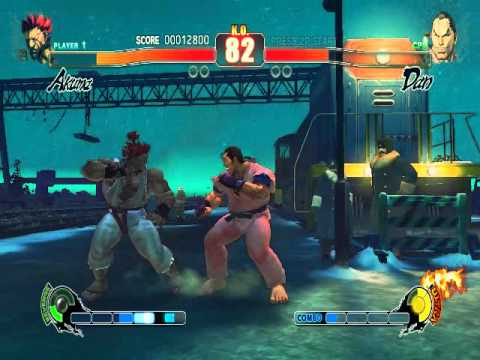 Eu Jogando Street Fighter 4