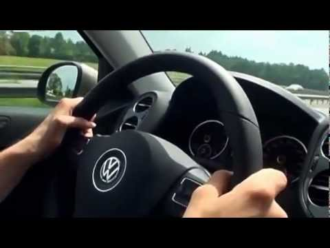 Тест драйв Volkswagen Tiguan 2012