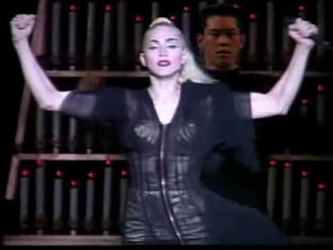 Madonna - Papa Don't Preach (blond Ambition Tour Yokohama) video