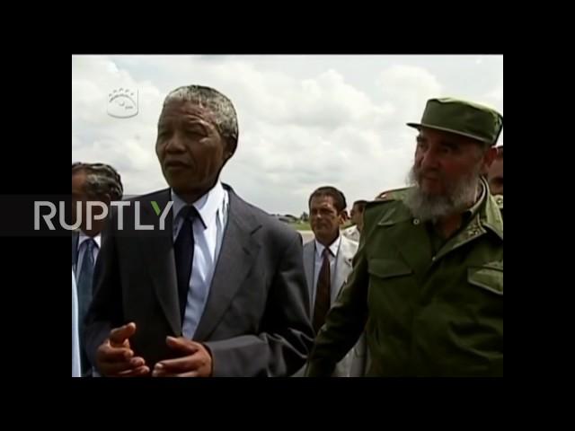Cuba: Revolutionary leader Fidel Castro dies age 90 *ARCHIVE*