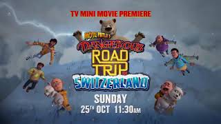 Motu Patlu's Dangerous Road Trip In Switzerland | Promo |  TV Mini Movie Premiere | Dussehra Special