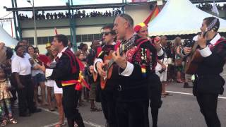 Carnaval International de Victoria (2015) - Spanish 'La Tuna' delegation