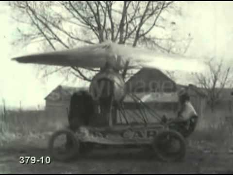 Bizarre Flying Machines from the 1920s .. Epic Fails!