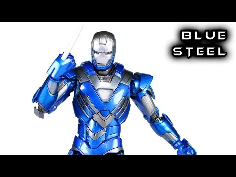 Comicave 1/12 BLUE STEEL IRON MAN Mark XXX Action Figure Toy Review