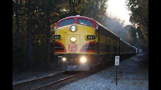 Chasing Kansas City Southern's Holiday Express