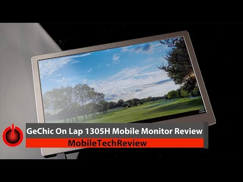 GeChic On Lap 1305H Mobile Monitor Review