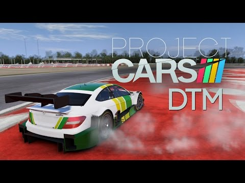 Project CARS: Hockenheim DTM Race (with T500RS F1 Wheel)