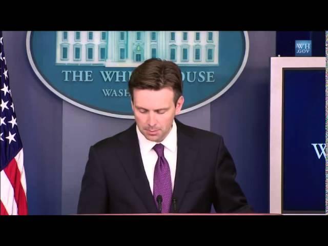"""White House vs. Netanyahu's """"USA Values"""" Comment"""