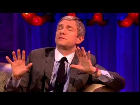 Full Segment : Martin Freeman Talks Sherlock and Fargo on Chatty Man [Full Segment]