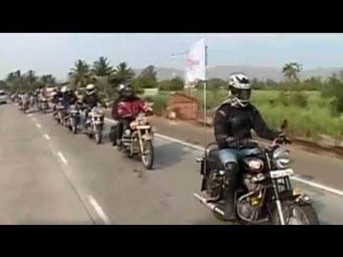Royal Enfield rider mania in Goa