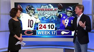 Waddle's World: Bears beat Vikings, 24-10, head to playoffs against Eagles