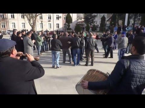 Taşeron İşçilerin Davullu, Zurnalı Kadro Kutlaması