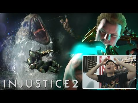 Injustice 2 - Official Gameplay Trailer! [REACTION]