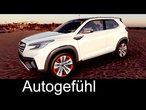 Subaru Viziv Future Concept Walkaround 2015 Tokyo Motor Show
