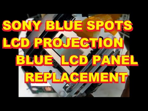 Sony LCD TV Blue Dots Blue Fog Blue Stars Repair KDF 42 50 55 60 WE WF XS XBR 655 955 950 610 620