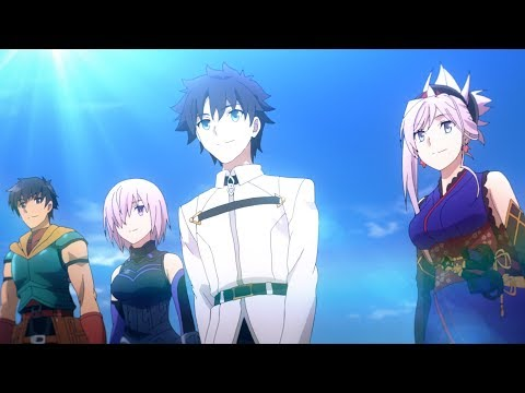 Fate/Grand Order TVCM (08月28日 23:00 / 20 users)