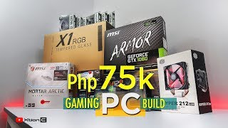 Php75k Gaming PC build I Core i5 7600k Kaby lake + MSI Armor GTX 1080 + MSI Mortar Arctic B250M [Ph]