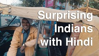 Foreigner Surprising Indians with Hindi (WARNING Smiles Galore!)
