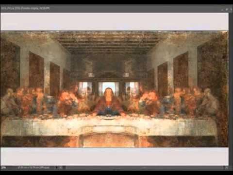 seres extraños en pinturas de leonardo Da vinci