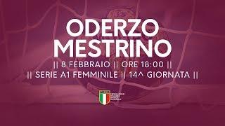 Serie A1F [14^]: Oderzo - Mestrino 20-19