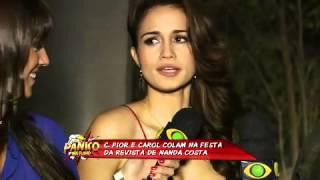 Pânico na Band 18/08/13 - Lançamento da Playboy da Nanda Costa com C.Pior e Carol