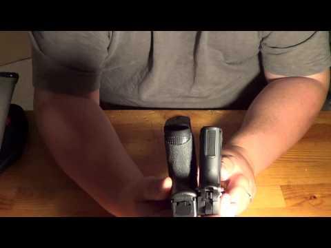 Sig p938 vs Glock 26: Size & Feature Comparison