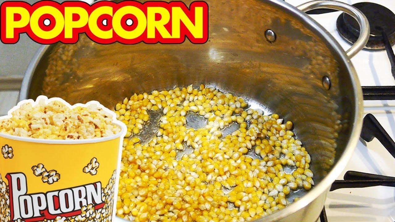 Как сделать в домашних условиях попкорн с  11