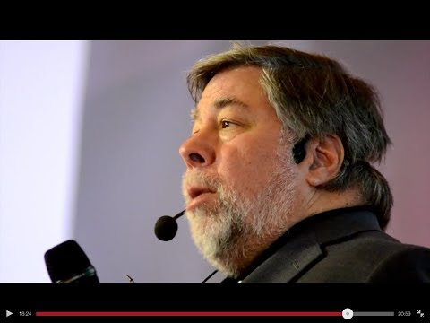 Joanna reports: Steve Wozniak at Apps World, London 2013