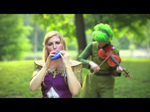 Deku Palace from the Legend of Zelda Majora s Mask on STL Ocarina and Saria Song on Violin