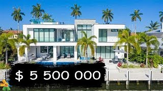 $5,500,000 Miami Luxury House Tour