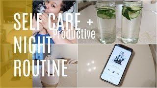 Realistic Night Time Routine | 5AM Prep | Self Care | Winter 2019
