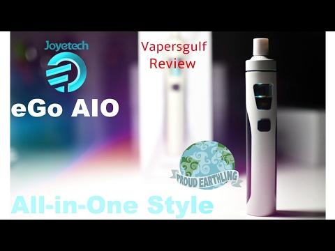 Vapersgulf- Vape In Dubai Joyetech Ego AIO Review, The Killer Starter Kit