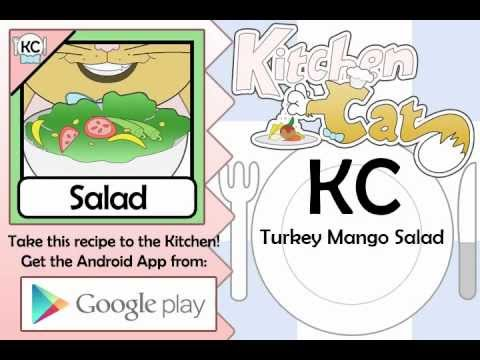 Turkey Mango Salad - Kitchen Cat