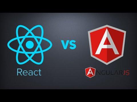Сравнение React и Angular. Что учить React или Angular в 2017?