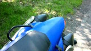 Yamaha XT 660 X sound exhaust SM