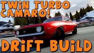 Forza 5   1969 Camaro SS Twin Turbo   Drift Build